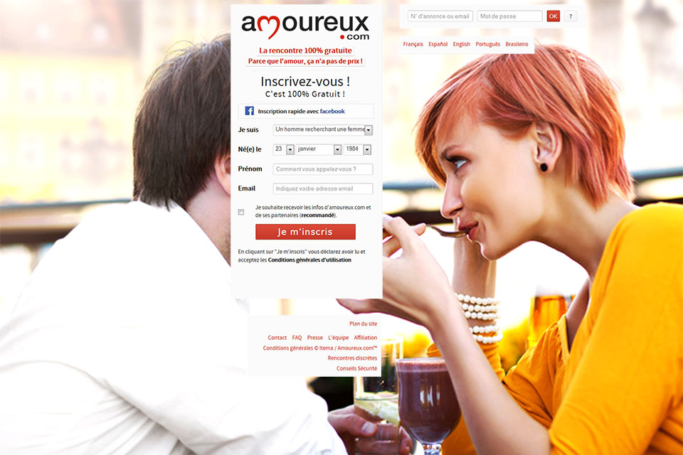 Site de rencontre amoureuse 100 gratuit