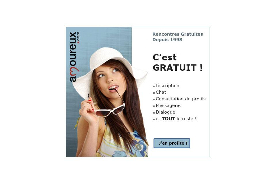 amoureux.com, bannière
